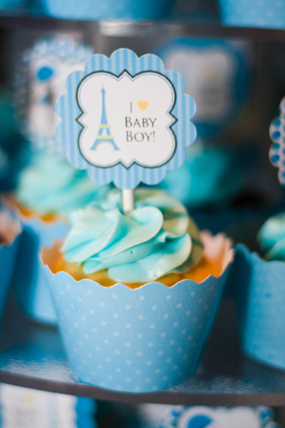 blue-baby-boy-parisian-baby-shower-cupcake-with-topper